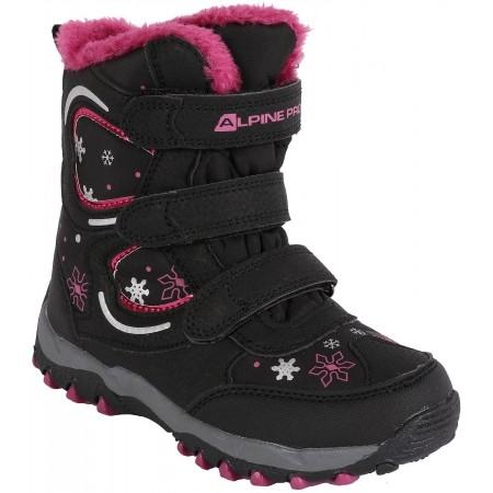 Dětská zimní obuv pro volný čas - ALPINE PRO KABUNI - 1