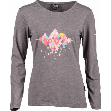 Dámské tričko - Hi-Tec LADY HUBEL LS - 1