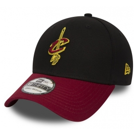 New Era 39THIRTY NBA BLACKBASE CLEVELAND CAVALIERS - Klubová kšiltovka