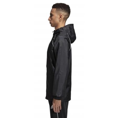 Pánská fotbalová bunda - adidas CORE18 RAIN JACKET - 4