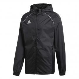 adidas CORE18 RAIN JACKET - Pánská fotbalová bunda