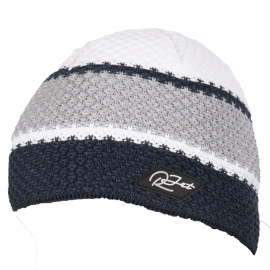 R-JET HRUBĚ PLETENÁ PRUHY - Pánská hrubě pletená čepice