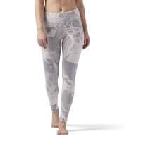 Reebok ELEMENTS LEGGING ABSTRACT BLOSSOM
