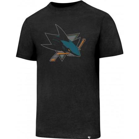 47 NHL SAN JOSE SHARKS CLUB TEE - Pánské tričko