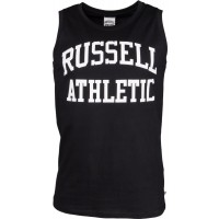 Russell Athletic SINGLET WITH CLASSIC ARCH LOGO PRINT