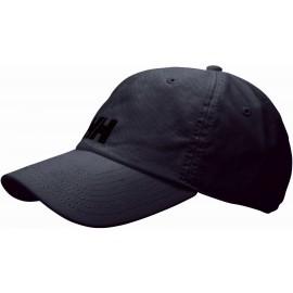 Helly Hansen LOGO CAP BLACK - Kšiltovka