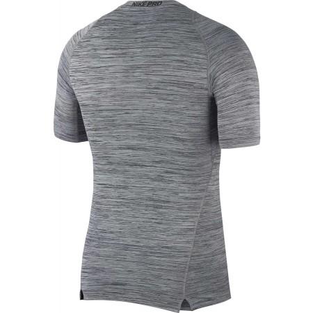 Pánské tréninkové triko - Nike TOP SS COMP HTHR - 2