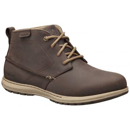 Columbia DAVENPORT CHUKKA WP LTR - Pánská vycházková obuv