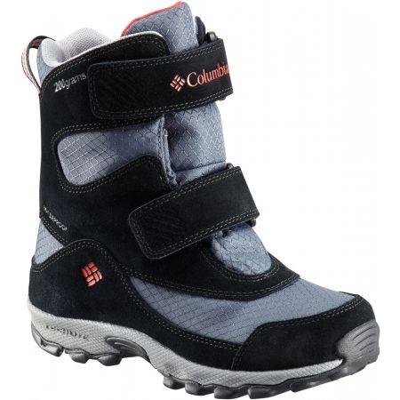 Columbia YOUTH PARKERS PEAK VELCRO BOOT - Dětská zimní obuv