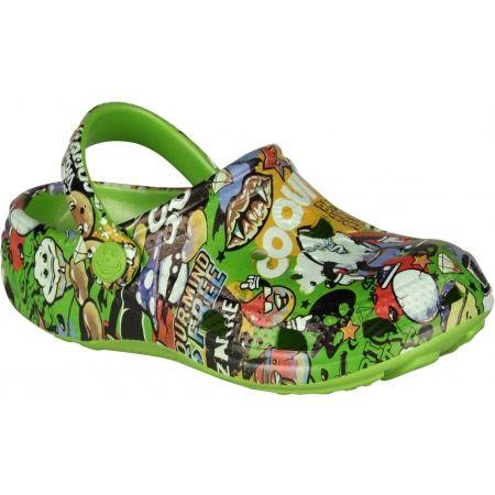 Coqui PRINTED - Dětské sandály