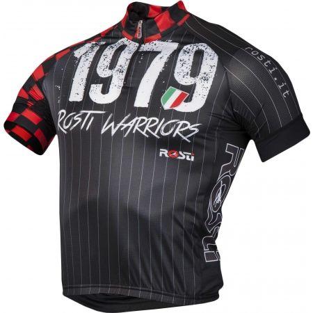 Pánský cyklistický dres - Rosti WARRIOR KR ZIP - 2