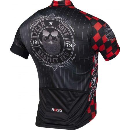Pánský cyklistický dres - Rosti WARRIOR KR ZIP - 3