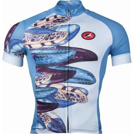 Rosti PAVONE DL ZIP - Dámský cyklistický dres