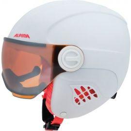 Alpina Sports CARAT LE VISOR - Dětská lyžařská helma