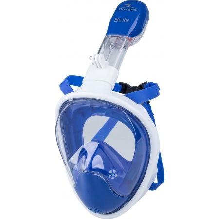 Dive pro BELLA MASK BLUE - Šnorchlovací maska