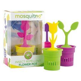 Mosquitno CITRONELLA FLOWER POT - Silikonový květináč