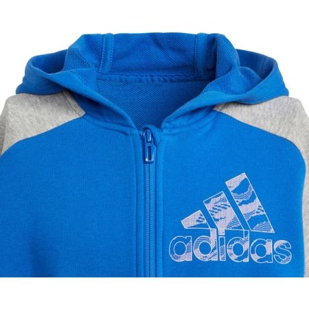 Chlapecká mikina - adidas COMMERCIAL PACK FULL ZIP HOODIE - 2