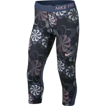 Dívčí sportovní legíny - Nike NP CAPRI AOP1 - 1