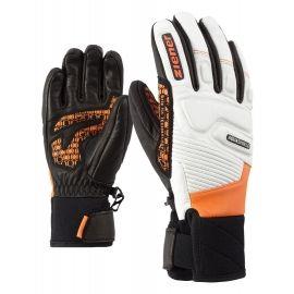 Ziener LISOR AS JUNIOR ORANGE - Dětské sportovní rukavice