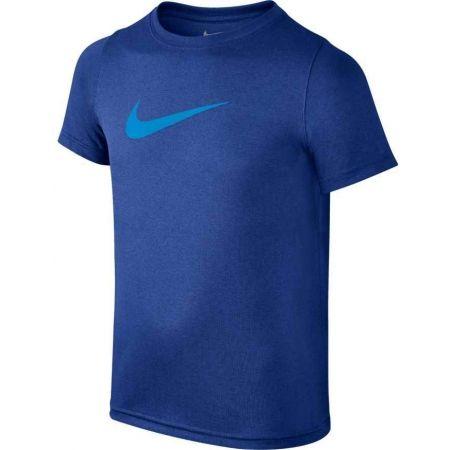 Chlapecké tričko - Nike B NK DRY TEE SS SWOOSH SOLID - 1