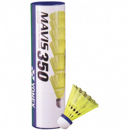 MAVIS 350 M - Badmintonové míčky - Yonex MAVIS 350 M