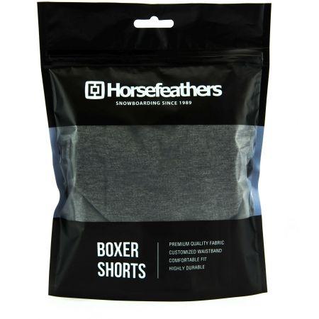 Pánské boxerky - Horsefeathers DYNASTY BOXER SHORTS - 2