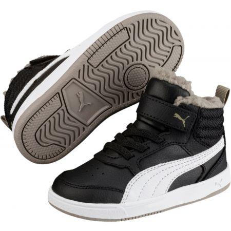 Puma REBOUND STREET V2 FUR PS - Dětská zimní obuv