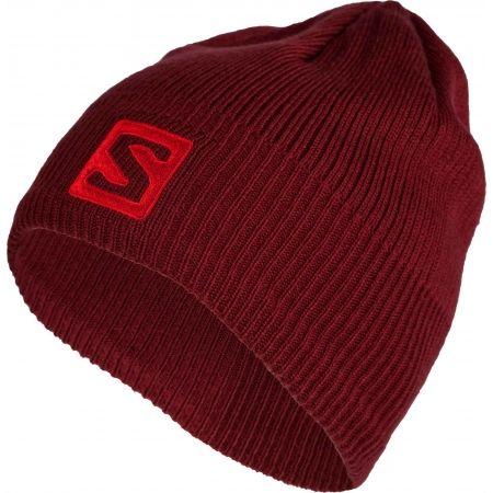 Zimní čepice - Salomon LOGO BEANIE - 1