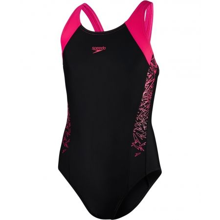 Speedo BOOM SPLICE MUSCLEBACK - Dívčí plavky