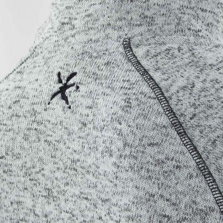 Pánskáý outdoor svetr - Klimatex KADRAT - 4