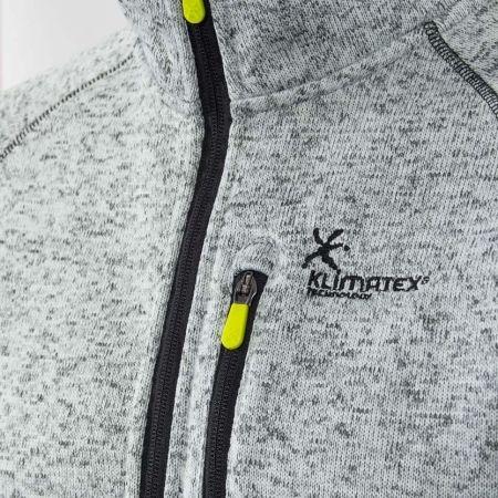 Pánskáý outdoor svetr - Klimatex KADRAT - 3