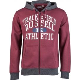 Russell Athletic ZIP THROUGH HOODY  WITH GRAPHIC PRINT - Pánská mikina