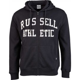 Russell Athletic ZIP THROUGH TACKLE TWILL HOODY - Pánská mikina