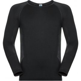 Odlo SUW MEN'S TOP L/S CREW NECK PERFORMANCE ESSENTIALS WARM - Pánské funkční tričko