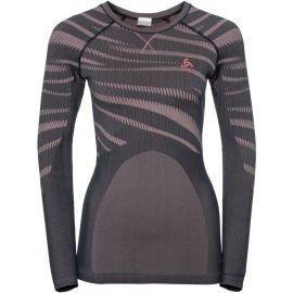 Odlo SUW WOMEN'S TOP L/S CREW NECK PERFORMANCE BLACKCOMB - Dámské funkční triko