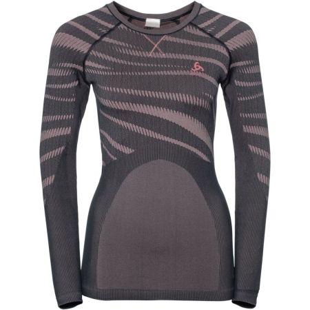 Dámské funkční triko - Odlo SUW WOMEN'S TOP L/S CREW NECK PERFORMANCE BLACKCOMB - 1
