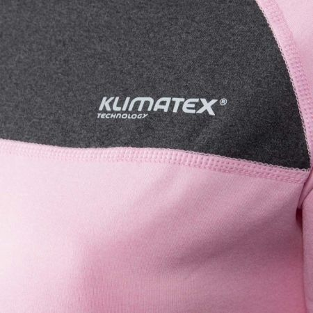 Dámské zimní triko s dlouhým rukávem - Klimatex ZORINA - 4