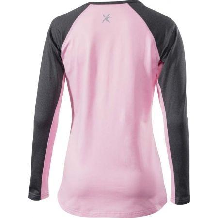 Dámské zimní triko s dlouhým rukávem - Klimatex ZORINA - 2