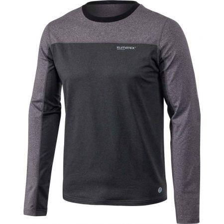 Pánské outdoor triko s dlouhým rukávem - Klimatex NADIN - 1