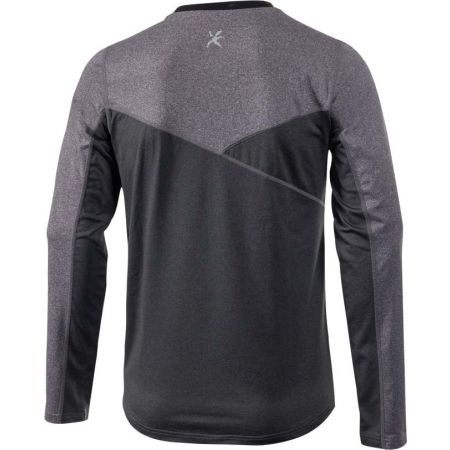 Pánské outdoor triko s dlouhým rukávem - Klimatex NADIN - 2