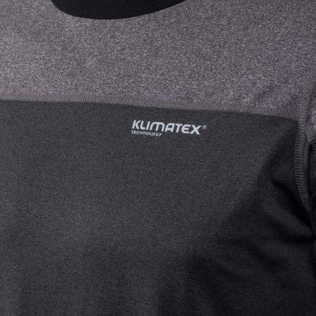 Pánské outdoor triko s dlouhým rukávem - Klimatex NADIN - 4