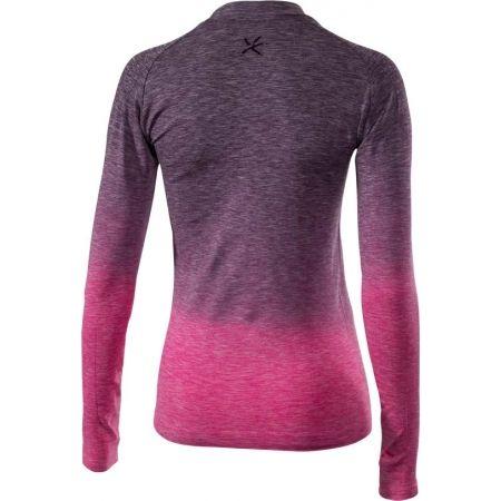 Dámské bezešvé termo triko s dlouhým rukávem - Klimatex ADELIN - 2