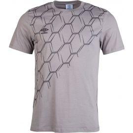 Umbro HULME GRAPHIC COTTON TEE - Pánské triko