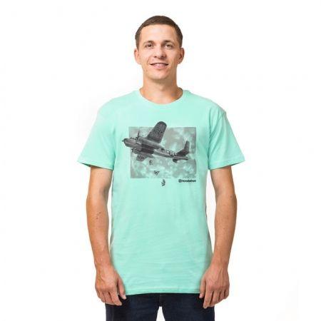 Pánské tričko - Horsefeathers BOMBER  T-SHIRT - 1