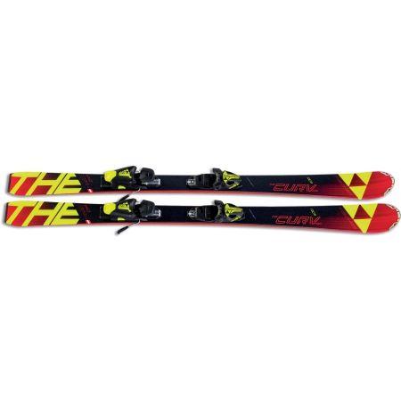 Juniorské sjezdové lyže - Fischer THE CURV PRO JR. + FJ7 - 2