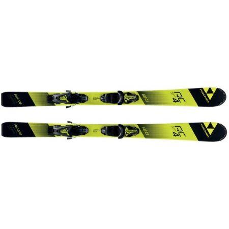 Juniorské sjezdové lyže - Fischer RC4 RACE JR. + FJ4 SLR - 2