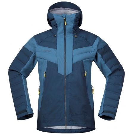 Pánská lyžařská bunda - Bergans HEMSEDAL HYBRID JKT - 1