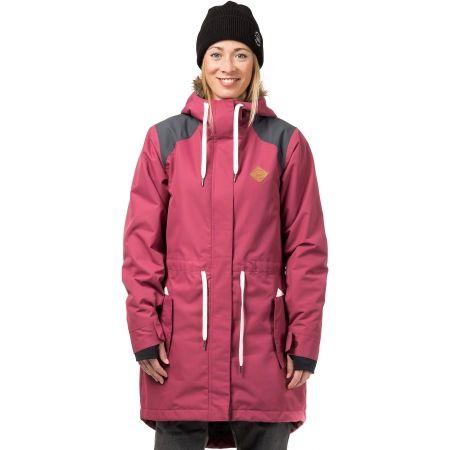 Dámská lyžařská/snowboardová bunda - Horsefeathers POPPY JACKET - 1