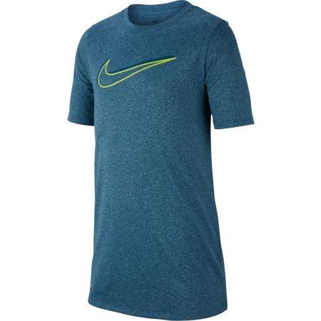 Chlapecké sportovní triko - Nike NK DRY LEG TEE 3D SWOOSH - 1