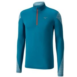 Mizuno ALPHA LS HZ - Pánské běžecké triko